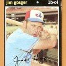 MONTREAL EXPOS JIM GOSGER 1971 TOPPS # 284 VG/EX