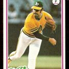 OAKLAND ATHLETICS RICK LANGFORD 1978 TOPPS # 327 VG