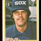 CHICAGO WHITE SOX JOHN VERHOEVEN 1978 TOPPS # 329