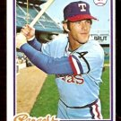 TEXAS RANGERS TOM GRIEVE 1978 TOPPS # 337 EX/NM