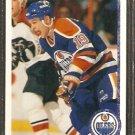 EDMONTON OILERS ANATOLI SEMENOV ROOKIE CARD RC 1990 UPPER DECK # 405