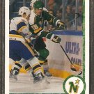 MINNESOTA NORTH STARS BOBBY SMITH 1990 UPPER DECK # 406