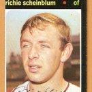 WASHINGTON SENATORS RICHIE SCHEINBLUM 1971 TOPPS # 326 EM/NM OC