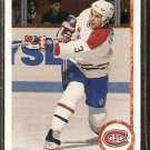 MONTREAL CANADIENS SYLVAIN LEFEBVRE ROOKIE CARD RC 1990 UPPER DECK # 421