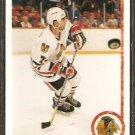 CHICAGO BLACKHAWKS CHRIS CHELIOS 1990 UPPER DECK # 422