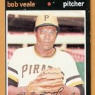 PITTSBURGH PIRATES BOB VEALE 1971 TOPPS # 368