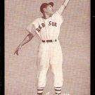 BOSTON RED SOX BILLY GOODMAN FIELDING POSE 1947 – 1966 EXHIBIT SUPPLY CARD