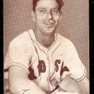 BOSTON RED SOX ELLIS KINDER 1947 – 1966 EXHIBIT SUPPLY CARD