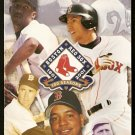 BOSTON RED SOX 2001 TICKET GUIDE TED WILLIAMS NOMAR PEDRO MARTINEZ TONY CONIGLIARO CY YOUNG PHOTO