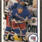 NEW YORK RANGERS KRIS KING ROOKIE CARD RC 1990 UPPER DECK # 440