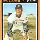 HOUSTON ASTROS FRED GLADDING 1971 TOPPS # 381 good