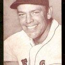 BOSTON RED SOX VERN STEPHENS 1947/66 EXHIBIT SUPPLY CARD