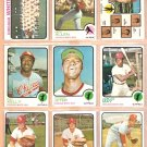 CHICAGO WHITE SOX 19 DIFF 1973 TOPPS DICK ALLEN TEAM CHUCK TANNER PAT KELLY JETER CARLOS MAY HERRMAN