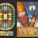 BOSTON CELTICS BUD LIGHT 2005-06 POCKET SCHEDULE PAUL PIERCE BUDWEISER