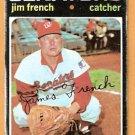 WASHINGTON SENATORS JIM FRENCH 1971 TOPPS # 399 good