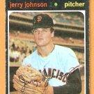 SAN FRANCISCO GIANTS JERRY JOHNSON 1971 TOPPS # 412 good