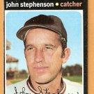 CALIFORNIA ANGELS JOHN STEPHENSON 1971 TOPPS # 421