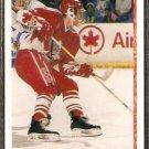TEAM CANADA KENT MANDERVILLE ROOKIE CARD RC 1990 UPPER DECK #465