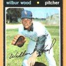 CHICAGO WHITE SOX WILBUR WOOD 1971 TOPPS # 436 G/VG