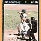 NEW YORK METS ART SHAMSKY 1971 TOPPS # 445 fair/good
