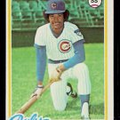 CHICAGO CUBS DAVE ROSELLO 1978 TOPPS # 423 EX/NM