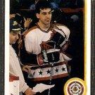 CHICAGO BLACKHAWKS CHRIS CHELIOS 1990 UPPER DECK # 491