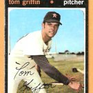 HOUSTON ASTROS TOM GRIFFIN 1971 TOPPS # 471 good