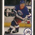 WINNIPEG JETS DANTON COLE ROOKIE CARD RC 1990 UPPER DECK # 517