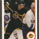VANCOUVER CANUCKS GINO ODJICK ROOKIE CARD RC 1990 UPPER DECK # 518