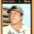 SAN FRANCISCO GIANTS STEVE HUNTZ 1971 TOPPS # 486 EX
