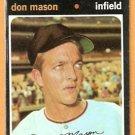 SAN DIEGO PADRES DON MASON 1971 TOPPS # 548 good