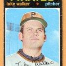 PITTSBURGH PIRATES LUKE WALKER 1971 TOPPS # 534 fair