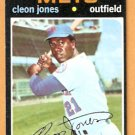 NEW YORK METS CLEON JONES 1971 TOPPS # 527 EX MT