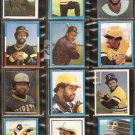 1981-83 PITTSBURGH PIRATES 20 DIFF TOPPS STICKERS WILLIE STARGELL MADLOCK PARKER BERRA PENA EASLER +