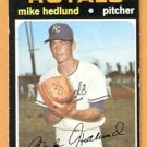 KANSAS CITY ROYALS MIKE HEDLUND 1971 TOPPS # 662 EX/EM