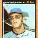 CALIFORNIA ANGELS GENE BRABENDER 1971 TOPPS # 666 fair