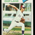 MONTREAL EXPOS CHIP LANG 1977 TOPPS # 132 EX
