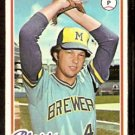 MILWAUKEE BREWERS JERRY AUGUSTINE 1978 TOPPS # 133 EX