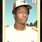 MONTREAL EXPOS WARREN CROMARTIE ROOKIE CARD RC 1978 TOPPS # 468 EM/NM