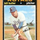 KANSAS CITY ROYALS BILL BUTLER 1971 TOPPS # 681 good