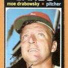 ST LOUIS CARDINALS MOE DRABOWSKY 1971 TOPPS # 685 EX MT