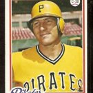 PITTSBURGH PIRATES KEN MACHA ROOKIE CARD RC 1978 TOPPS # 483 VG