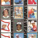 1981-84 MONTREAL EXPOS 30 DIFF TOPPS STICKERS GARY CARTER ANDRE DAWSON TIM RAINES AL OLIVER WALLACH
