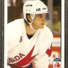 LUC ROBITAILLE TEAM CANADA 1991 UPPER DECK # 507