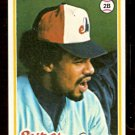 MONTREAL EXPOS DAVE CASH 1978 TOPPS # 495 EX MT