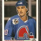 QUEBEC NORDIQUES MIKE McNEILL 1991 UPPER DECK # 524
