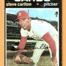 ST LOUIS CARDINALS STEVE CARLTON 1971 TOPPS # 55 G/VG