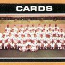 ST LOUIS CARDINALS TEAM CARD 1971 TOPPS # 308 EM/NM