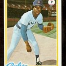 CHICAGO CUBS DONNIE MOORE ROOKIE CARD RC 1978 TOPPS # 523 NM