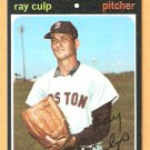 BOSTON RED SOX RAY CULP 1971 TOPPS # 660 EM/NM